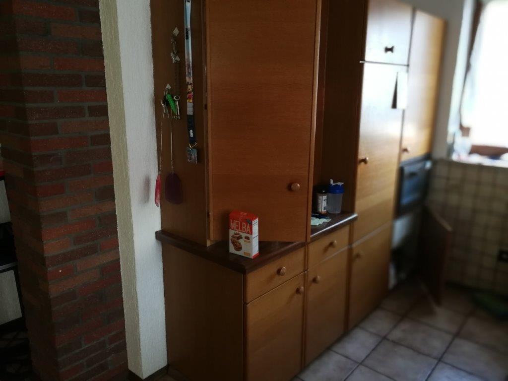 Eine Küche vor der Renovierung durch Firma Walter Becker