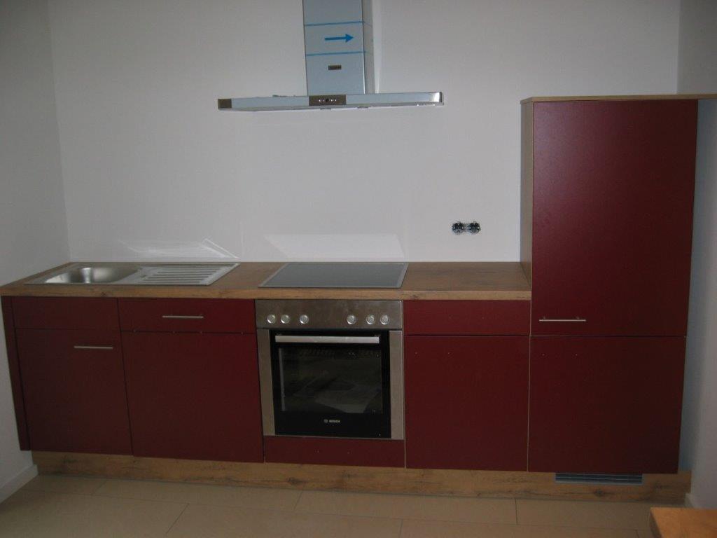Eine Küche angefertigt und eingebaut vom Schreiner der Firma Walter Becker